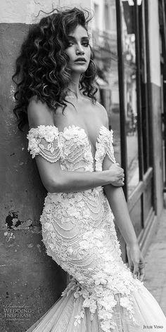JULIE VINO FALL 2018 WEDDING DRESSES #WeddingIdeas #WeddingDresses #WinterIdeas #WeddingInspiration