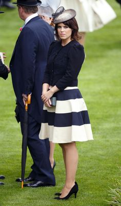 Royals Attend The 2013 Royal Ascot.  Princess Eugenie looks so lovely and poised.