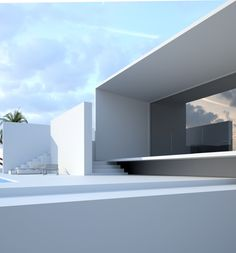 House   Project by Roman Vlasov, via Behance