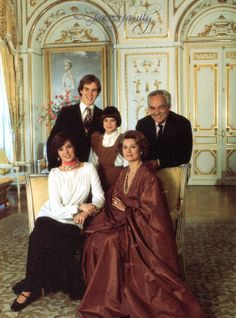 The Princely Family of Monaco — Portrait by Howell Conant. 1976.