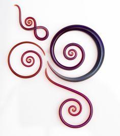 Glass Heart Studio earrings