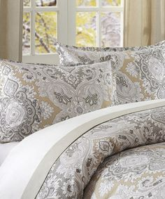 Another great find on #zulily! Gray Paisley Sham #zulilyfinds