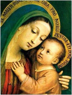 Novena to Our Lady of Good Counsel: April 17 to April 25 . O Holy Virgin, moved by the painful uncertainty we experi. True Devotion To Mary, Catholic Company, Catholic Books, Catholic Art, Catholic Homeschooling, Catholic Store, Catholic Gifts, Mary And Jesus, Hail Mary