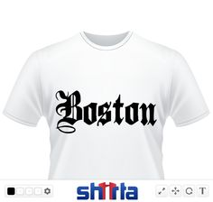 Boston type text apparel graphics font form back to beantown bostton city logo designs.