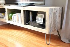 Reclaimed wood media cabinet/TV stand