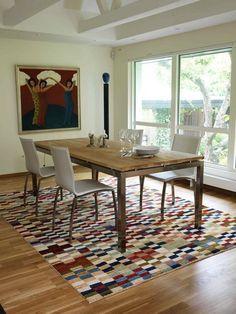 A modern Ziegler carpet from CarpetVista.com