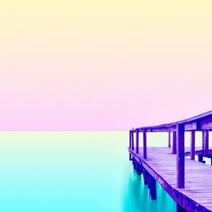 Pastel pier // My #candyminimal takeover of the Storehouse iOS app is under way! Check it out on Storehouse and at @storehousehq.