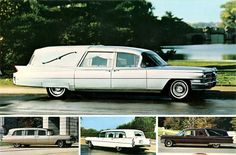 1963 Cadillac Hearse LineUp by Superior AD