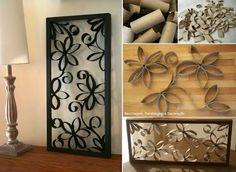 Simple and cheap! Beautiful home decoration