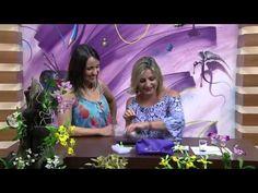 Programa Arte Brasil - 18/03/2015 - Alessandra Assi - Lavandas em Biscuit - YouTube