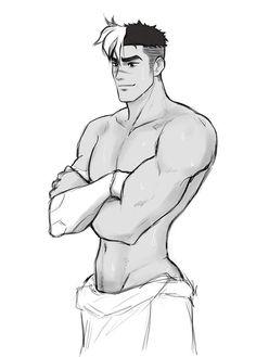 VLD fanart - Shiro's got me all 'Hawt DAYUM!'<-- he got the booty