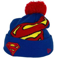 New Era Hero Over Logo Beanie Superman ★★★★★