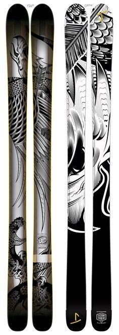 "The Masterblaster ""PREDATOR"" Derek Muscat x J Collab Limited Edition Ski"