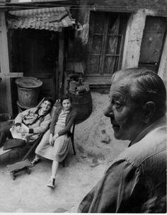 Robert Doisneau | Jacques Prevert (ca. 1960)