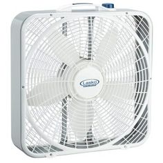 Lasko - 20 in. Weather Shield Performance Box Fan - An exclusive grill design that focuses the air movement, increasing its velocity. Patented, isolated motor for worry-free window use. Window Fans, Room Cooler, Led Display Screen, Innovative Systems, Portable Fan, Best Windows, Grill Design, Home Appliances