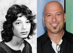 Howie Mandel Guess Who Celebrities Then And Now, Young Celebrities, Young Actors, Child Actors, Celebs, Howie Mandel, Celebrity Pictures, Hollywood Pictures, Young Old