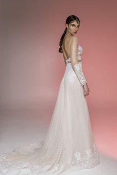 image035 Boho Bride, Bridal, Wedding Dresses, Illusion, Lace, Fashion, Moda, Bridal Dresses, Alon Livne Wedding Dresses