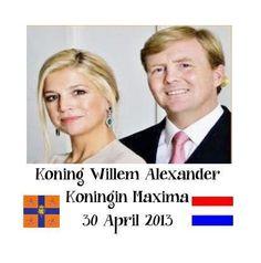 Koning Willem- Alexander  Koningin Maxima 30april 2013  www.kopgroepbibliotheken.nl