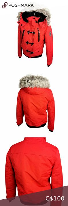 I just added this listing on Poshmark: Noize Red Winter Jacket Sz S Womans Faux Fur Hood. #shopmycloset #poshmark #fashion #shopping #style #forsale #Noize #Jackets & Blazers Plus Fashion, Fashion Tips, Fashion Trends, Black Knit, Faux Fur, Blazers, Winter Jackets, Hoodies, Long Sleeve