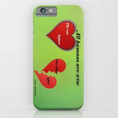 Buy All humans are ... by Christine baessler as a high quality iPhone & iPod Case. Worldwide shipping available at Society6.com. Just one of millions of products available.