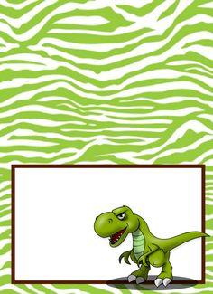 Dinosaur Party Food Labels | Free Printable