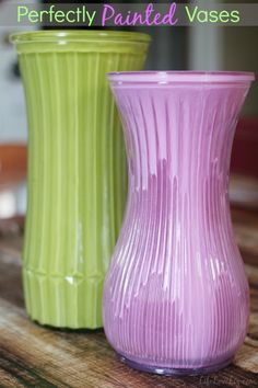 Update Flower Shop & Thrift Store Vases with Paint