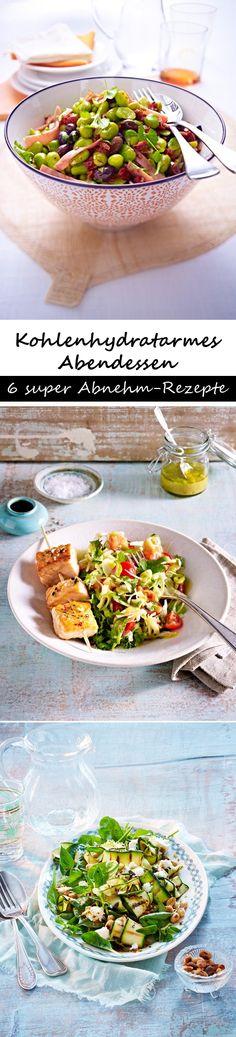 Kohlenhydratarmes Abendessen - 10 Kilo weg! Hier kommen die passenden Rezepte zum Nachkochen - allesamt mit wenig Kohlenhydraten >>>