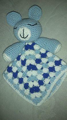 Teddy Bear Security Blanket ~ free pattern ᛡ