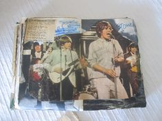 pages from my old schoolagenda 1965/1966 The Rolling Stones