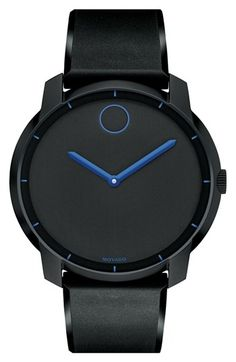 Movado 'Bold' Silicone Strap Watch, 44mm available at #Nordstrom