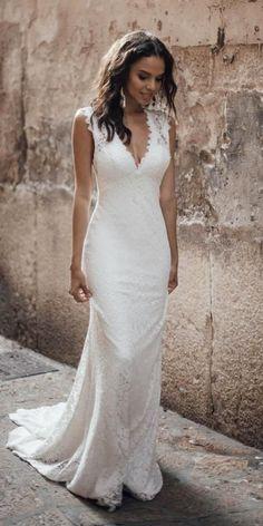 b3c4d877afd2 Lior Charchy 2019 Wedding Dress Vestiti Da Sposa Incredibili