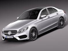 MercedesBenz CClass W205 2015 sedan