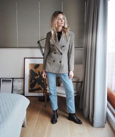 3,189 vind-ik-leuks, 73 reacties - Anouk Yve (@anoukyve) op Instagram: 'I know you like them blazers #Ootd #hmtrend #therow #bedroomdecor'