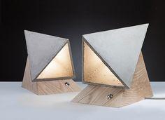 Дизайнерские лампы из цемента и другие handmade идеи