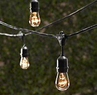 Vintage Light String. Yeah I want it but not for $144. Sticking with the Christmas lights.