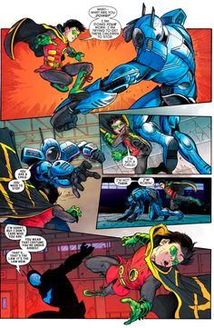 BATMAN (JIM GORDON) VS ROBIN (DAMIAN WAYNE) 1/3