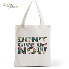 Tote Bag Rock my Citron,  Don't Give Up Now Cadeaux Fêtes, Anniversaires, Naissances