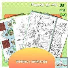 Páginas de atividades maravilhosas e de graça!!