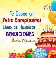 Happy Birthday In Spanish, Happy Birthday Best Wishes, Happy Birthday Status, Happy Birthday Daughter, Happy Birthday Pictures, Birthday Wishes Cards, Birthday Songs, Happy Birthday Parties, Happy Birthday Messages