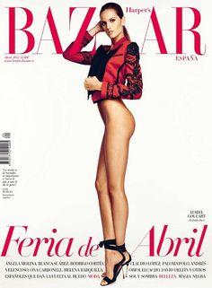 Melania Pan. Harper´s Bazar España April 2012
