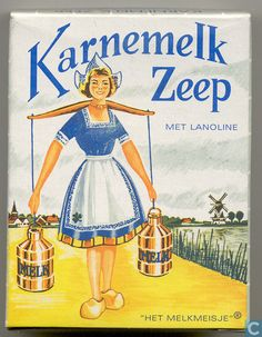 Old Dutch Advertising for Buttermilk Soap with Lanolin.( i've been in the actual factory in Haarlem , loooooong time ago ) Vintage Advertising Posters, Old Advertisements, Vintage Posters, Advertising Ideas, Vintage Labels, Vintage Ads, Holland Netherlands, Wow Art, Old Ads