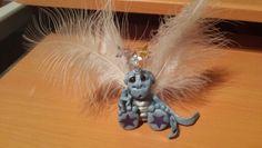 Handmade Dragon sculpey clay Christmas tree decoration