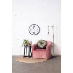 Fauteuil Claire - Velvet Oudroze - Giga Meubel Cosy Corner, Lounge Chairs