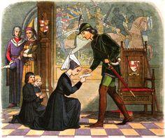 Edward IV meets Elizabeth Woodville