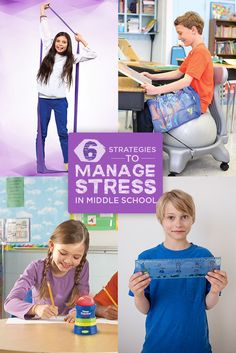 6 Strategies to Manage Stress in Middle School | Special Needs | Autism | ADHD