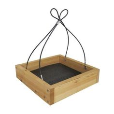 Cedar Tray Wild Bird Feeder
