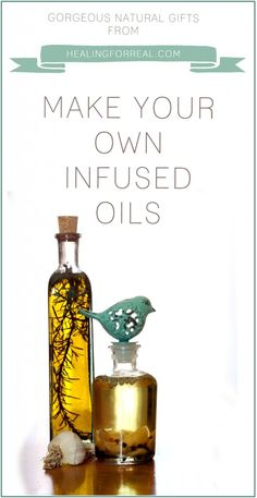 Gorgeous Natural Gifts - Infused oils!