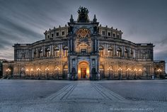 Semperoper Dresden: one of the most beautiful opera houses in Europe and the place of my European Professional Debut.