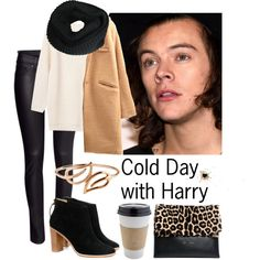 """""""Cold Day with Harry Styles"""" by tonioverthetop on Polyvore"""