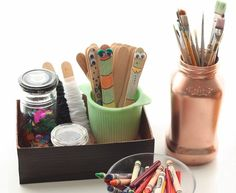 Save money by making a DIY organizer from old cereal boxes!